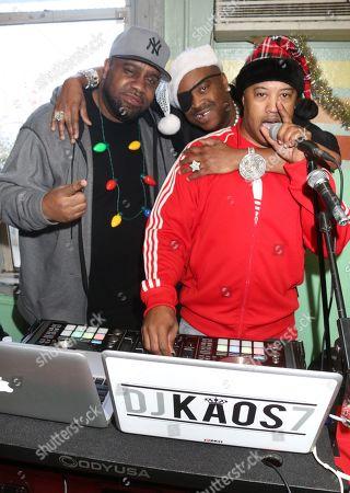 DJ Kool Mike Ski and Slick Rick and DJ Kaos