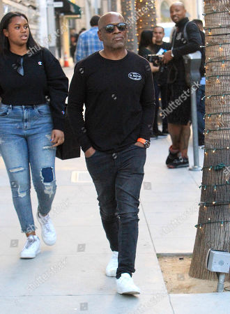 Editorial photo of LA Reid out and about, Los Angeles, USA - 22 Dec 2018