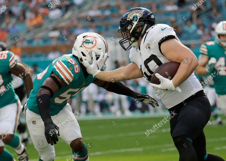 Editorial picture of Jaguars Dolphins Football, Miami Gardens, USA - 23 Dec 2018