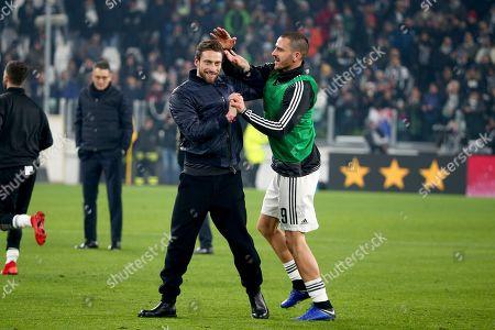 Claudio Marchisio and Leonardo Bonucci