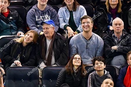 Editorial image of Celebrities at Philadelphia Flyers v New York Rangers, NHL ice hockey match, Madison Square Garden, New York, USA - 23 Dec 2018