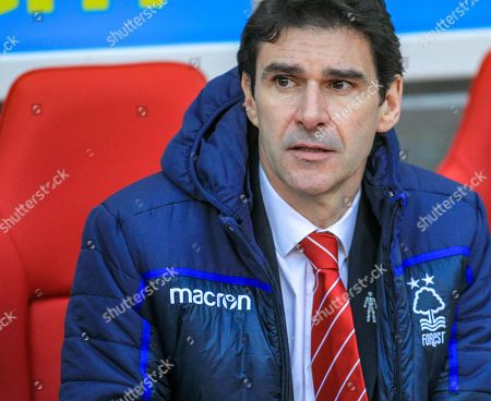 Aitor Karanka manager of Nottingham Forrest before kick offCredit: Craig Milner/News Images English Football League images are subject to DataCo Licence