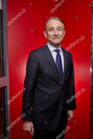 Editorial picture of Pierre de Villiers interview and photo shoot, Paris, France - 10 Dec 2018