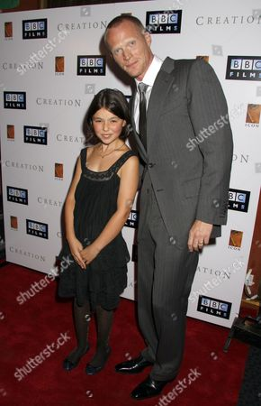 Paul Bettany and Martha West