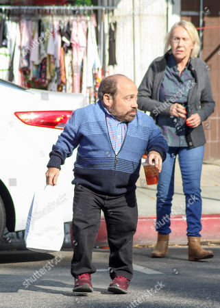Editorial picture of Danny Woodburn out and about, Los Angeles, USA - 24 Dec 2018