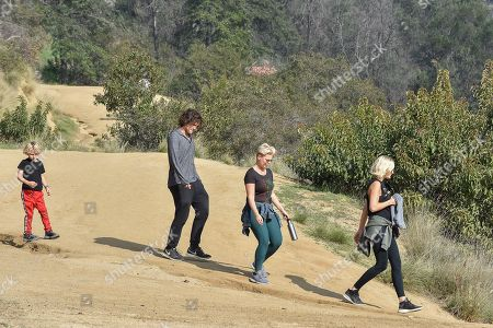 Malin Akerman, her husband Jack Donnelly, and son Sebastian