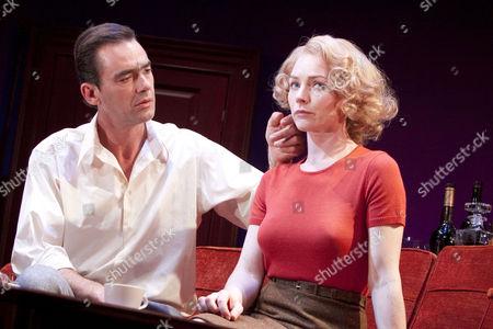 Richard Lintern (Tony Wendice), Aislin McGuckin (Sheila Wendice)