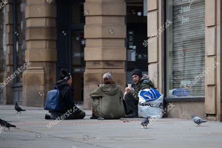 Editorial photo of Homelessness in Manchester, UK - 25 Dec 2018