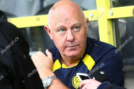 Burton Albion assistant manager Andy Gardner pre-match interview during the EFL Sky Bet League 1 match between Burton Albion and Wycombe Wanderers at the Pirelli Stadium, Burton upon Trent
