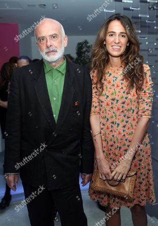 Stock Picture of Francisco Clemente and  Cornelia Brandelini