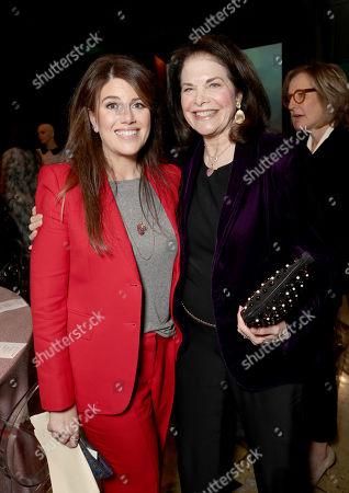 Monica Lewinsky, left, and Sherry Lansing