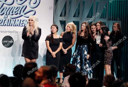 Kesha, Lori Greiner and award winners