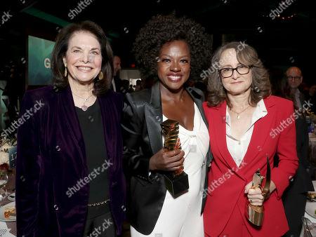 Sherry Lansing, from left, Viola Davis and Nina Jacobson