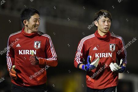 (L-R) Shuichi Gonda, Masaaki Higashiguchi (JPN)