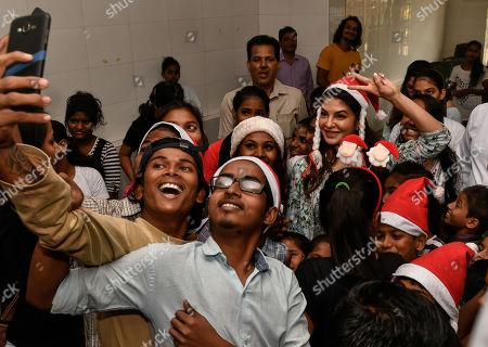 Editorial image of Jacqueline Fernandez Christmas Celebration, Mumbai, India - 26 Dec 2018