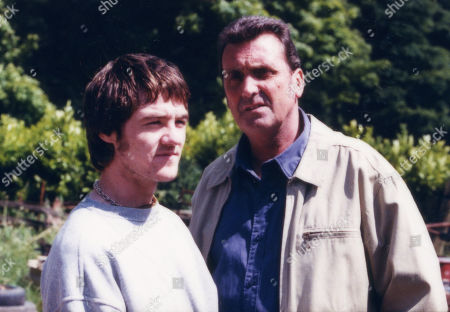 Ned Glover, as played by Johnny Leeze ; and Roy Glover, as played by Nicky Evans