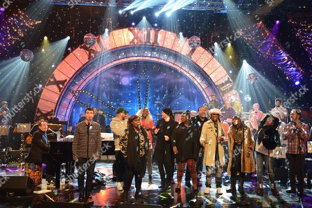 Rehearsals - Jools Holland, Marc Almond, Ruby Turner, Michael Buble, Yola, Nile Rodgers and Chic and Junior Giscombe