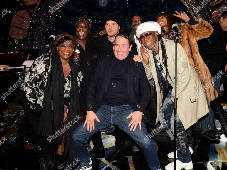 Ruby Turner, Michael Buble, Jools Holland and Nile Rodgers