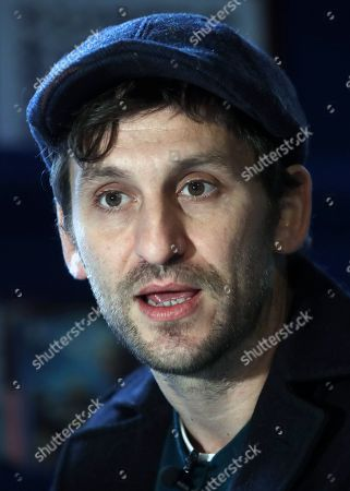 Raul Arevalo speaks during an interview with Spanish international news agency Efe in Madrid, Spain, 27 December 2018, on occasion of the release of his upcoming movie 'Memories of a man in pajamas' that will be premiered on 04 January 2019.