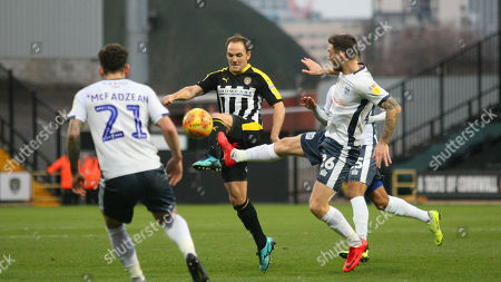 Editorial image of Notts County v Bury, Sky Bet League Two, Football, Meadow Lane, Notts, UK - 29 Dec 2018