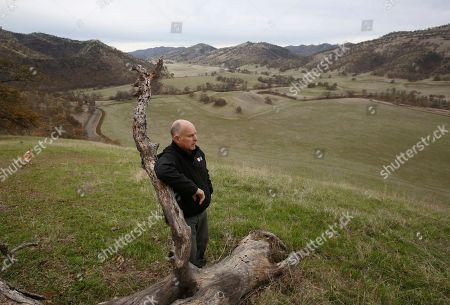 Gov. Jerry Brown views his Colusa County ranch, near Williams, Calif. Brown will retire to the ranch when he leaves office Jan. 7, 2019, after a record four terms in office, from 1975-1983 and again since 2011