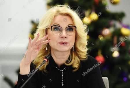 Russian Deputy Prime Minister Tatyana Golikova