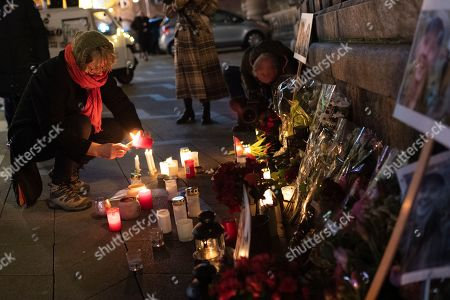 Candlelight vigil Scandinavian tourists killed Morocco Copenhagen