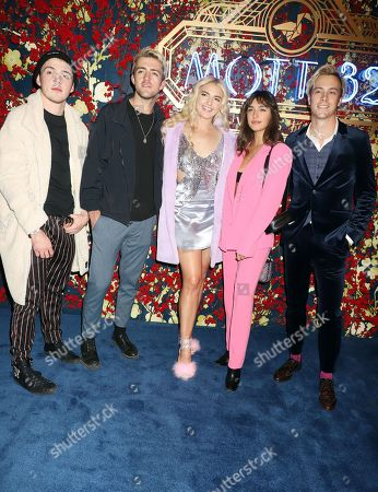 Stock Picture of R5, Ellington Ratleff, Rocky Lynch, Rydel Lynch, Savannah Latimer, Riker Lynch