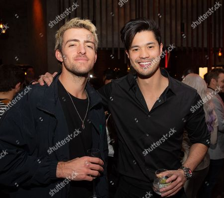 Rocky Lynch and Ross Butler