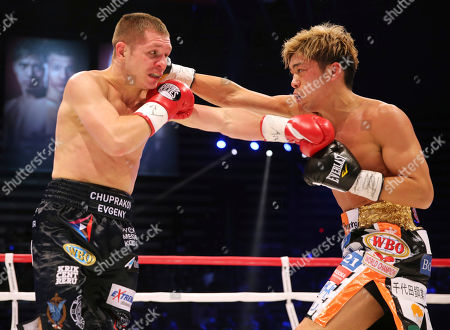 Masayuki Ito, Evgeny Chuprakov. Japanese champion Masayuki Ito, right, and Russian challenger Evgeny Chuprakov exchange punches in the second round of their WBO junior lightweight world title boxing match in Tokyo, . Ito defended his title with a technical knockout in the seventh round