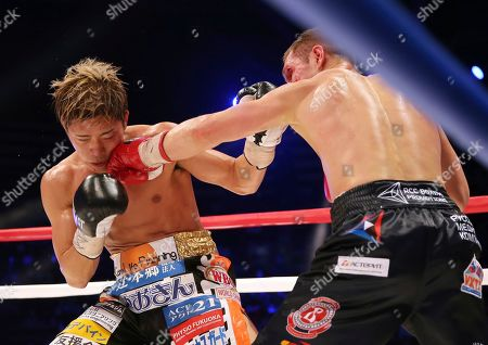 Masayuki Ito, Evgeny Chuprakov. Japanese champion Masayuki Ito, left, receives a punch from Russian challenger Evgeny Chuprakov in the sixth round of their WBO junior lightweight world title boxing match in Tokyo, . Ito defended his title with a technical knockout in the seventh round