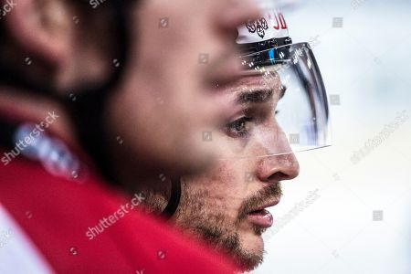 Team Canada's Maxim Noreau during the game between Team Canada and Thomas Sabo Ice Tigers at the 92th Spengler Cup ice hockey tournament in Davos, Switzerland, 30 December 2018.