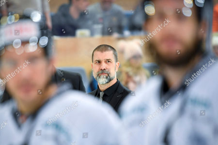 Ice Tiger's coach Martin Jiranek after the game between Team Canada and Thomas Sabo Ice Tigers at the 92nd Spengler Cup ice hockey tournament in Davos, Switzerland, 30 December 2018.