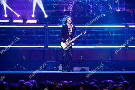 Editorial image of Trans-Siberian Orchestra in concert at Little Caesars Arena, Detroit, USA  - 29 Dec 2018