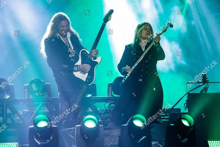Stock Photo of Trans-Siberian Orchestra - Joel Hoekstra and Chris Caffery