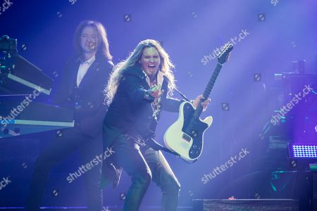 Stock Picture of Trans-Siberian Orchestra - Derek Weiland and Joel Hoekstra
