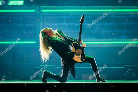 Editorial photo of Trans-Siberian Orchestra in concert at Little Caesars Arena, Detroit, USA  - 29 Dec 2018