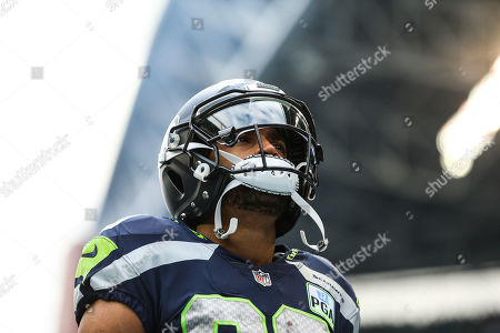 Seattle Seahawks wide receiver Doug Baldwin (89) before a game between the Arizona Cardinals and the Seattle Seahawks at CenturyLink Field in Seattle, WA. The Seahawks defeated the Cardinals 27-24