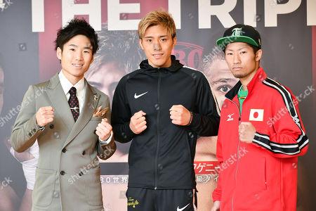 Ken Shiro, Masayuki Ito, Takuma Inoue