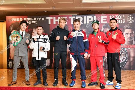 Ken Shiro, Saul Juarez, Masayuki Ito, Evgeny Chuprakov, Takuma Inoue and Petch CP Freshmart