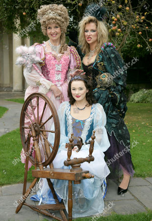 Liza Goddard as The Good Fairy and Gemma Bissix as The Bad Fairy