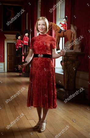 Lucy Worsley, historian and chief curator at Historic Royal Palaces.