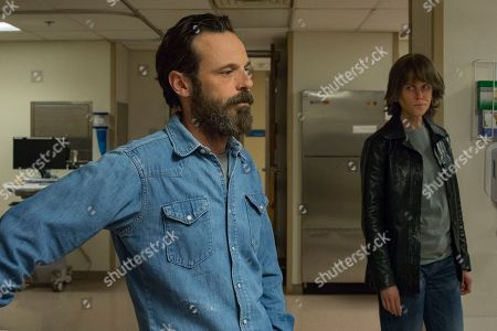 Scoot McNairy as Ethan and Nicole Kidman as Erin Bell
