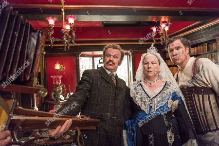 John C Reilly as Watson, Pam Ferris as Queen Victoria and Will Ferrell as Sherlock Holmes