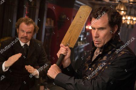 John C Reilly as Watson and Will Ferrell as Sherlock Holmes