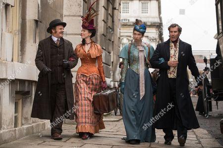 John C Reilly as Watson, Rebecca Hall as Grace, Lauren Lapkus as Millie and Will Ferrell as Sherlock Holmes