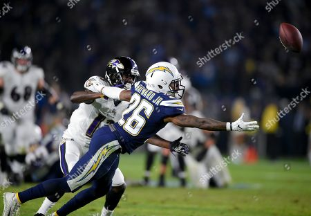 Editorial photo of Ravens Chargers Football, Carson, USA - 22 Dec 2018