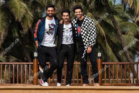 Exclusive - Vicky Kaushal, Rajkummar Rao and Kartik Aaryan