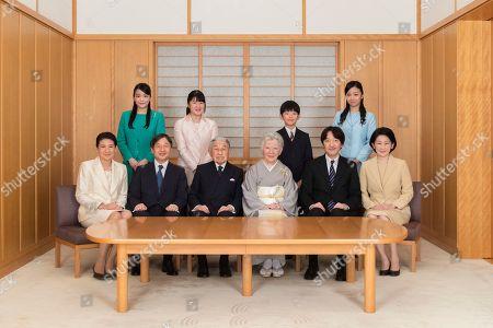 Editorial image of Emperor New Year, Tokyo, Japan - 03 Dec 2018