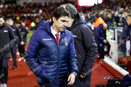 Nottingham Forest Manager Aitor Karanka  after the finish during the EFL Sky Bet Championship match between Nottingham Forest and Leeds United at the City Ground, Nottingham